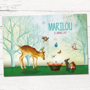 Geboortekaartje op maat_Marilou