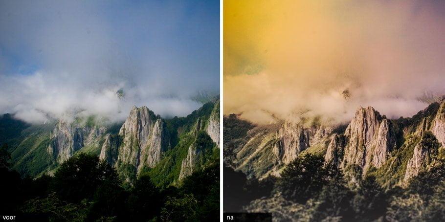 Bohemian fotografie bewerking landschap
